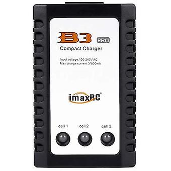B3 lipo 10 w lithium battery balance 2s-3s 7.4 v 11.1 v b3ac compact charger, black color