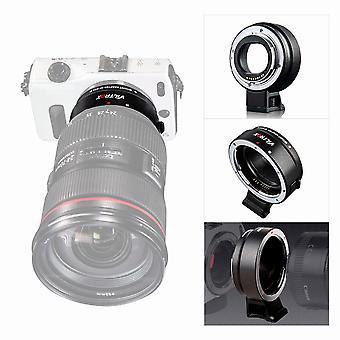 Viltrox Autofokus Ef-eos M Mount Objektiv Mount Ring Adapter für Canon Ef Ef-s Objektiv zu Canon Eos Spiegellose Kamera