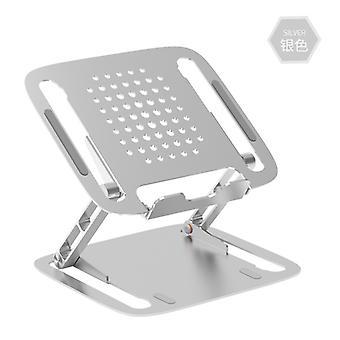 New aliaj de aluminiu Notebook telescopice pliere portabil calculator de răcire Lift și de a crește suportul desktop