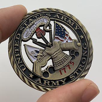 1775 United States Hollow Medal Collection Coin Craft Gold Coin Pièce commémorative Pièce cadeau Badge de voyage