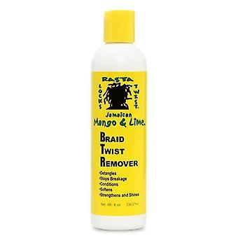 Jamaican Mango & Lime Braid Twist Remover 8oz