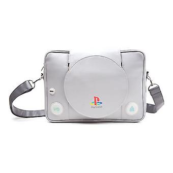SONY PlayStation One Console Messenger Bag Grey (MB128818SNY)