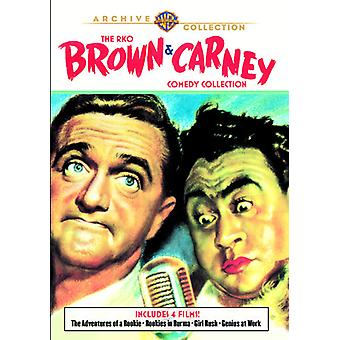 Rko Brown & Carney Comedy Collection [DVD] USA import