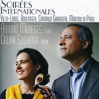 Villa-Lobos/Guarnieri/Boulanger/Martinu - Soir Es Internationales [CD] USA import