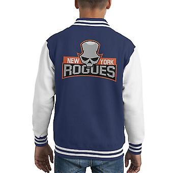 New York Rogues Kid's Varsity Ceket
