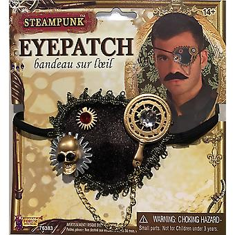 スチーム パンクな空想科学小説ファンタジー ビクトリア朝の海賊女性メンズ衣装眼帯