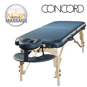 Concord Elite Professional Oversized Portable Massage Table w/Bonuses - Charcoal