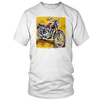 Triumf Bonneville Pop Art Mens T-skjorte