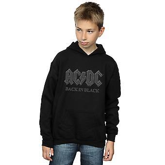 AC/DC guttene tilbake i svart Hoodie