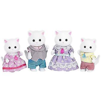 Sylvanian Families Persian Cat Family Set