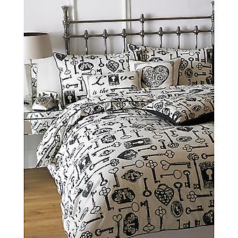 Riva Home Keys Duvet Set