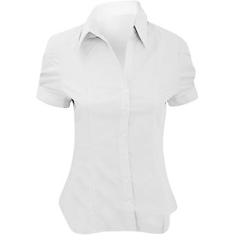 Brook Taverner Paduli Womens Short Sleeve Office Blouse