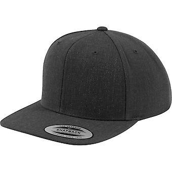 Flexfit by Yupoong Mens Classic Premium Wool Plastic Snapback Cap