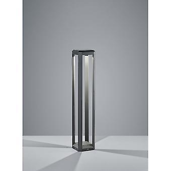 Trio d'éclairage moderne Logone Anthracite Aluminium moulé sous pression Pole