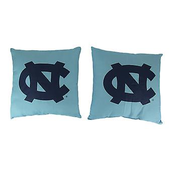 NCAA North Carolina Tar Heels Throw Pillow Set of 2