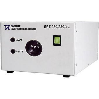 Thalheimer ERT 230//230/4L isolations transfomer (fastspænding) 1000 VA nr. af udgange: 1 x 230 V AC