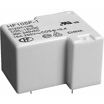 Hongfa HF105F-1/240AT-1ZST (136) PCB relay 240 V AC 20 A 1 change-over 1 pc(s)