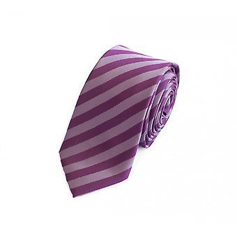 Cravatta cravatta cravatta cravatta 6cm-viola zebrato Fabio Farini