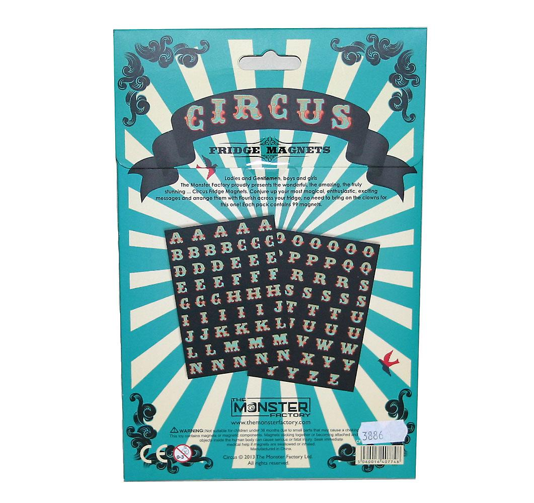 Circus Fridge Magnets