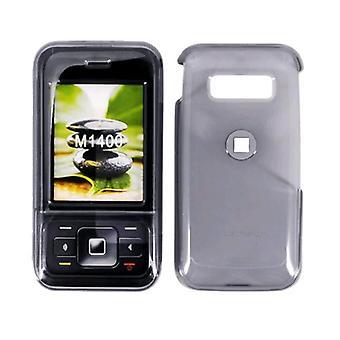 5 Pack -MetroPCS Snap-On Case for Kyocera M1400 (Translucent Smoke)