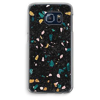 Samsung Galaxy S6 Transparent Grenzfall (Soft) - Terrazzo N ° 10