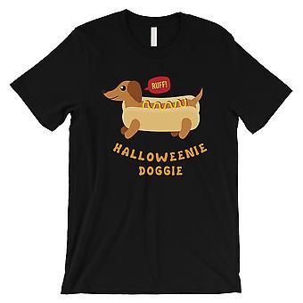 القميص الأسود رجالي الكلب هالوويني