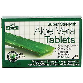 Aloe Pura, Super Stärke Aloe Vera, 60 Tabletten