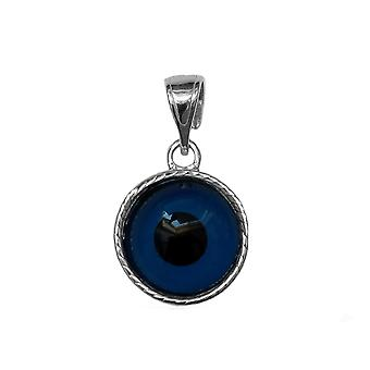 Charm in argento Sterling greco Meandros malocchio
