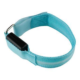 Armband mit LED hellblau