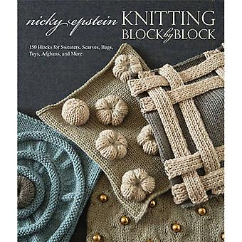 Knitting Block by Block by Nicky Epstein - 9780307586520 Book