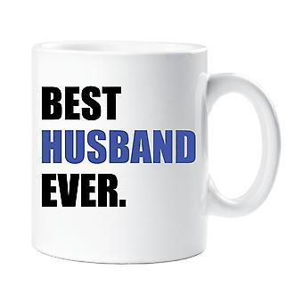 Best Husband Ever Mug Blue