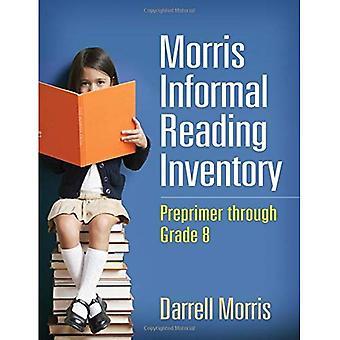 Morris informele lezing voorraad: Preprimer via rang 8