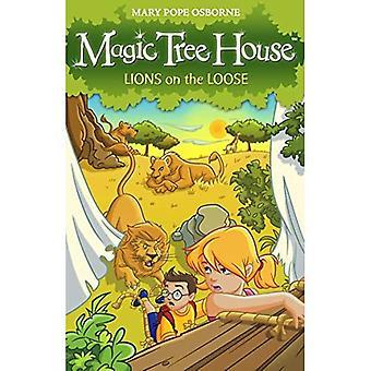 Magic Tree House 11: Lions en cavale