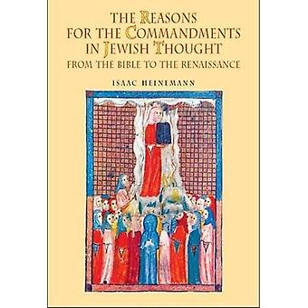 Reasons for the Commandments in Jewish Thought: From the Bible to the Renaissance (Reference Library of Jewish Intellectual History)