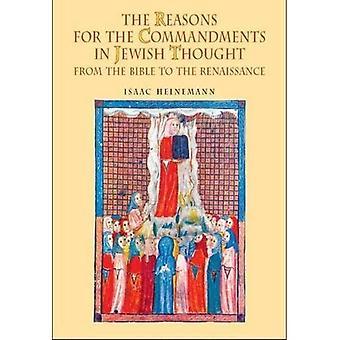 Redenen voor de geboden in Joodse gedachte: uit de Bijbel aan de Renaissance (referentiebibliotheek van Joodse intellectuele geschiedenis)