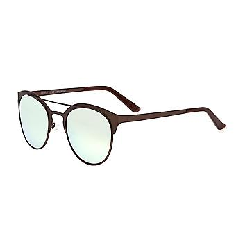 Breed Phoenix Titanium Polarized Sunglasses - Brown/Celeste