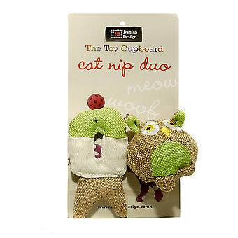 Danish Design Pet Products Fido And Fish Duo Cat Toys (Pack Of 2)