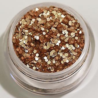 1pcs Sechseck Glitter Sand (Matt)