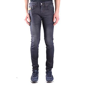 Brian Dales Ezbc126008 Men's Black Cotton Jeans