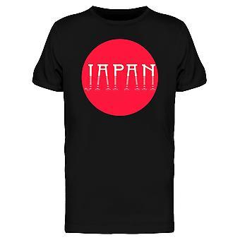 Red Center Japan T-Shirt Herren-Bild von Shutterstock