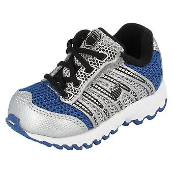Boys K Swiss Trainers Tubes Run 100 VLCMSH