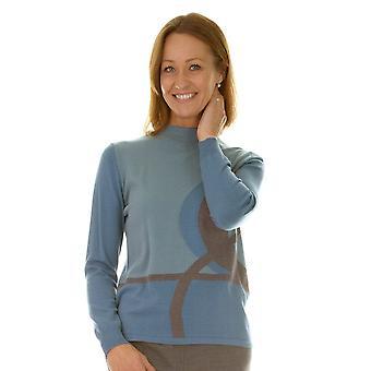 LEBEK Sweater 17910018 Blue