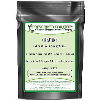 Creatina (L)-puro polvo cristalino monohidrato de L-creatina-80 mesh