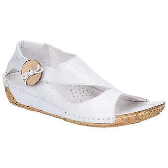 Riva dames/dames soepele leren schoen