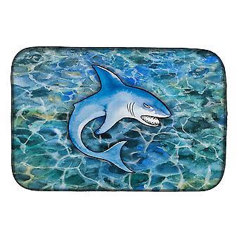 Carolines Treasures  BB5352DDM Shark Dish Drying Mat