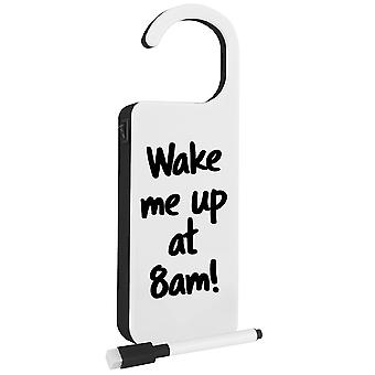 Modern Home LED Light Up Door Hanger w/Dry Erase Marker