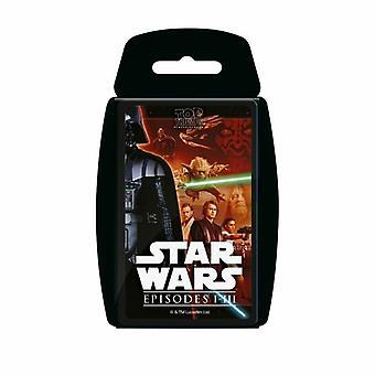 Top Trumps-Star Wars Episodes 1-3