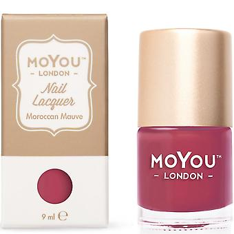 MoYou London Stamping Nail Lacquer - Moroccan Mauve 9ml (MN069)