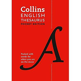 Collins English Thesaurus: Pocket Edition (Collins lomme)