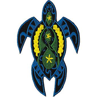 Patch - Animals - Fancy Blue Turtle Iron On Gifts New Licensed p-3675
